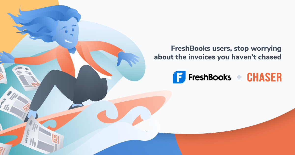 Freshbooks users can now optimise their accounts receivable process and get paid faster using Chaser