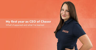 Sonia Dorais describes her first year as Chaser's CEO