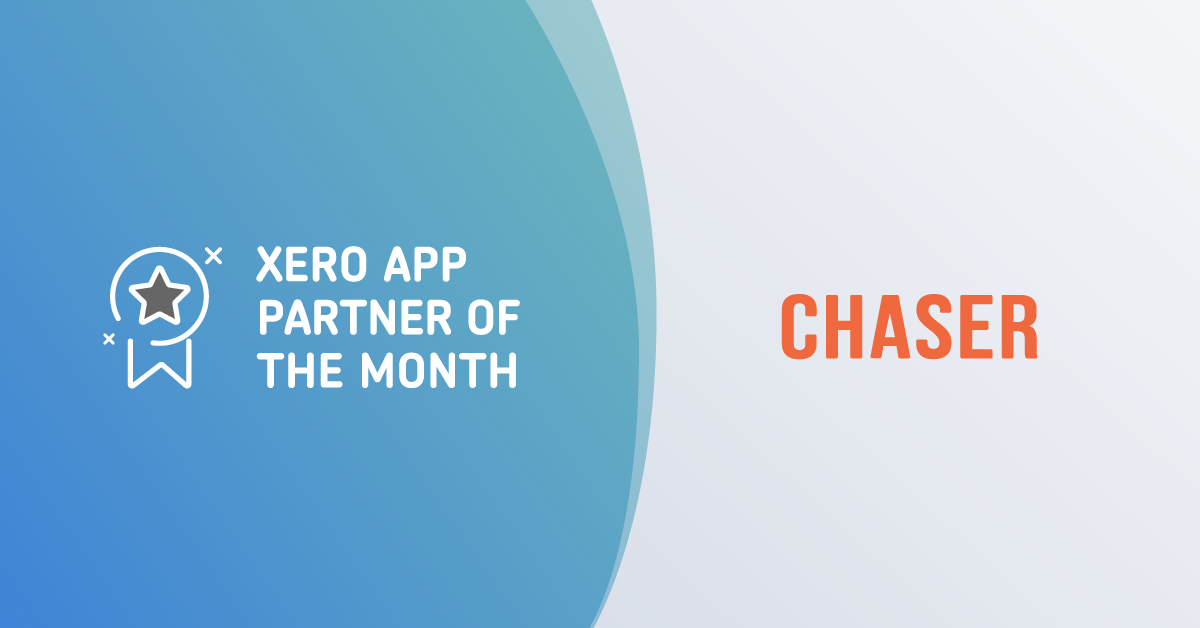 Chaser is Xero's app partner of the month