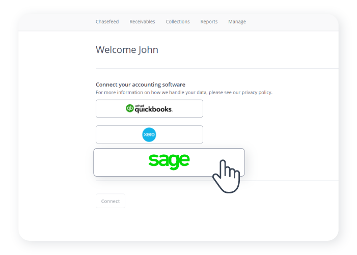 Chaser-Connect Sage to Chaser