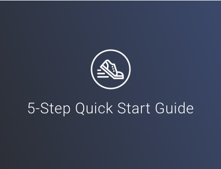 Get started with the 5-step quick start guide! The guide will take you through the essential steps to start chasing today